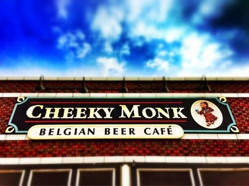 cheeky monk
